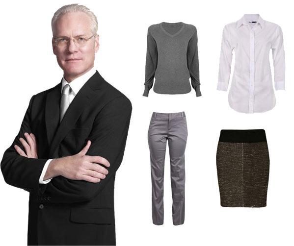 Os 10 itens essenciais do guarda-roupa feminino por Tim Gunn Divulgação/