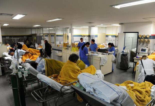 Santa Casa tem duas emergências fechadas pela superlotação, na Capital Ronaldo Bernardi/Agencia RBS