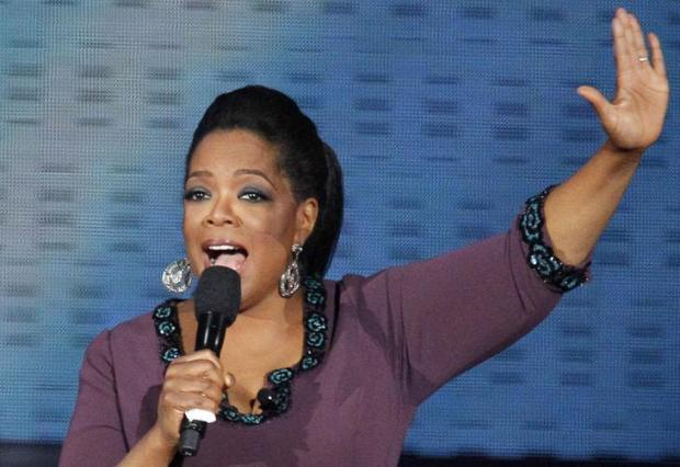 Oprah Winfrey grava entrevista com médium no Brasil nesta quinta-feira Charles Rex Arbogast/AP
