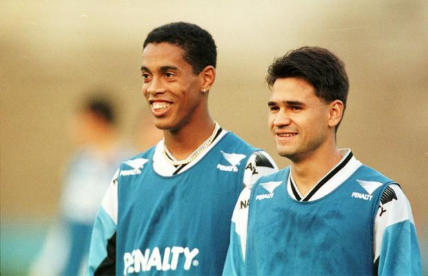 """Itaqui: o """"curinga"""" que fez Roth deixar Ronaldinho no banco do Grêmio Mauro Vieira, Banco de Dados/"""