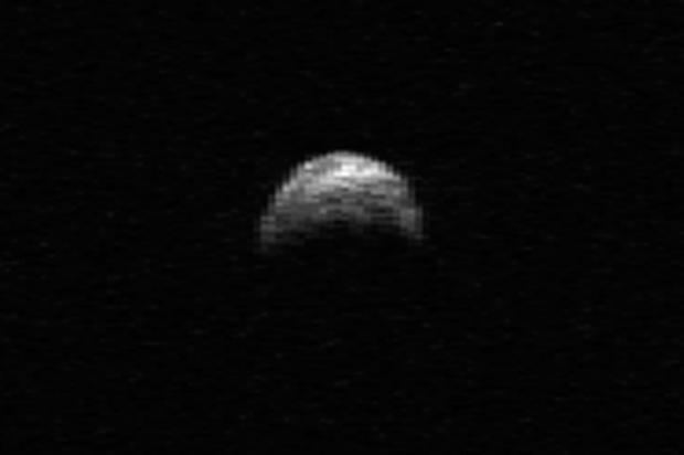 Asteroide chegará mais perto da Terra que a Lua nesta terça-feira NASA/Cornell/Arecibo /