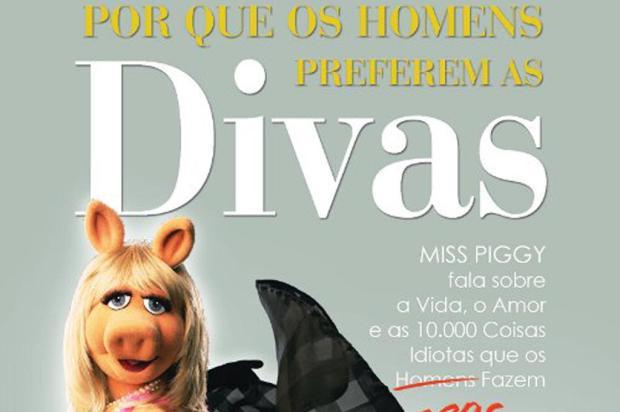 Personagem Miss Piggy lança livro sobre relacionamentos amorosos Reprodução /
