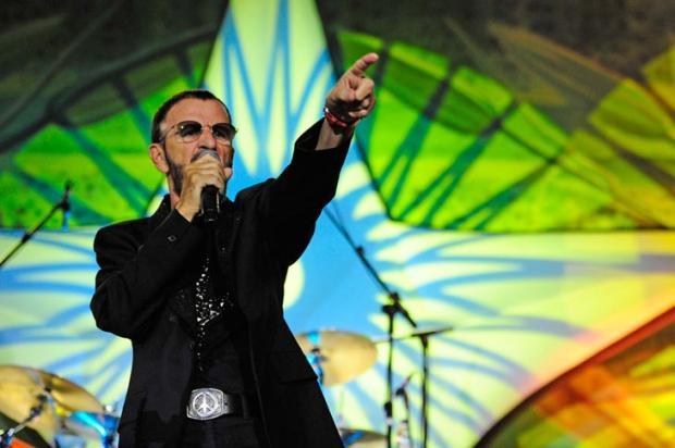 Ringo Starr é produtor de seu último disco solo Mauro Vieira /