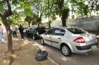 Cinco carros colidem no bairro Cidade  Baixa, em Porto Alegre Emilio Pedroso/Agencia RBS