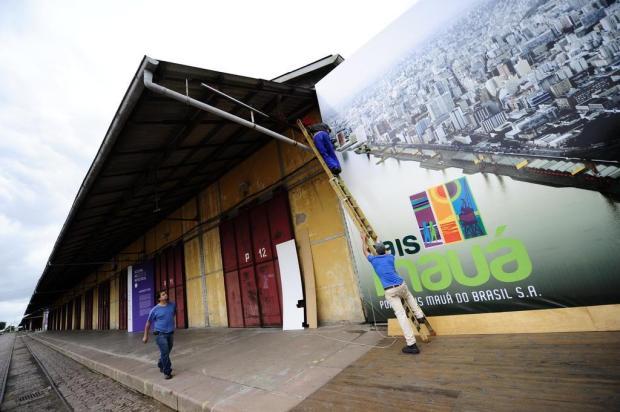 Obras de revitalização do Cais Mauá devem estar finalizadas em quatro anos Diego Vara/Agencia RBS