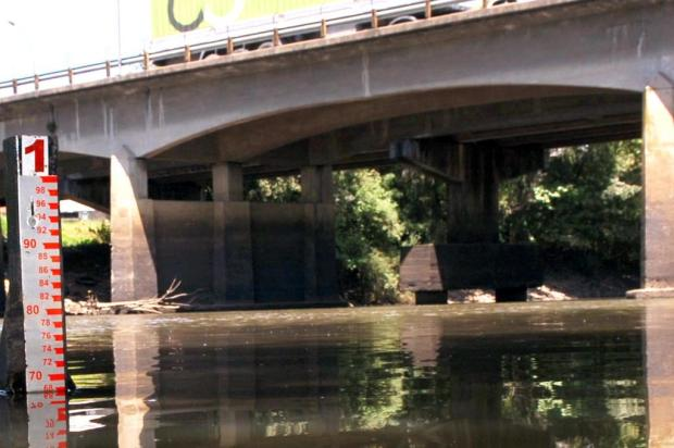 Rio do Sinos está um metro abaixo da média para o período  Miro de Souza/Agencia RBS