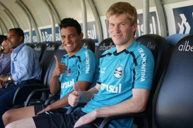 Como joga Felipe Nunes, o meia-atacante que reforçará o Grêmio em 2012 Grêmio/Divulgação