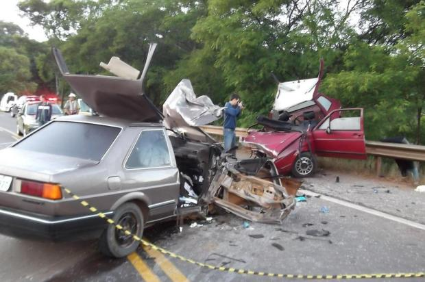 Colisão frontal causa morte de três mulheres e deixa feridos em Serafina Corrêa Comando Rodoviário da Brigada Militar/Divulgação