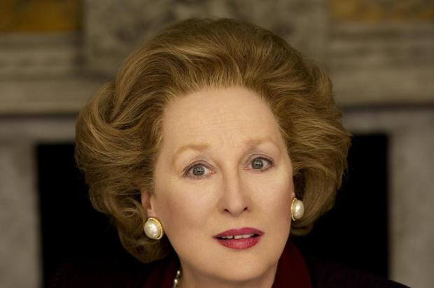 "Em ""A Dama de Ferro"", Meryl Streep encarna Margaret Thatcher Alex Bailey / The Weinstein Company/AP Photo"