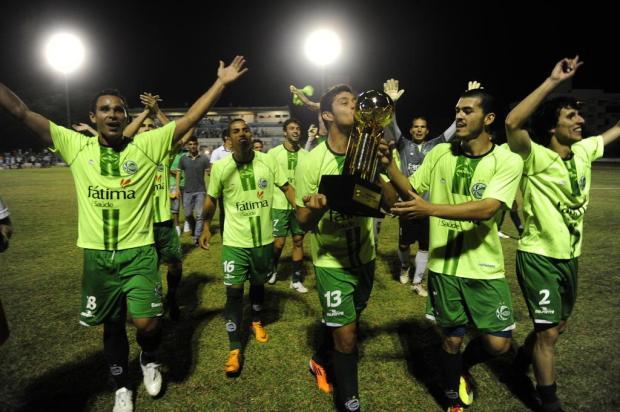 Atual campeão do Interior, Juventude sonha com título do Gauchão 2012 Porthus Junior/Agência RBS