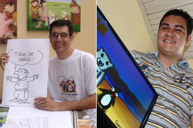 Conheça os dois vencedores do concurso Tiras de Verão 2012 Crédito Marcus Tatsch e Márco Greff, Especial/