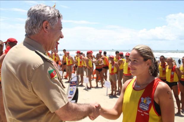 Dia do Salva-vidas é comemorado com simulação de salvamento e lançamento de edital da BM Wilson Cardoso/Brigada Militar/Divulgação