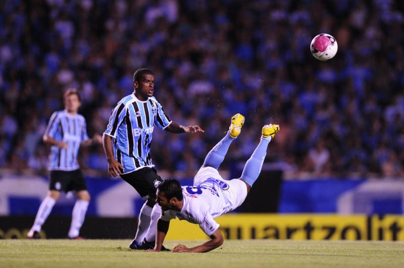 O Grêmio teve boa atuação na etapa inicial:imagem 9