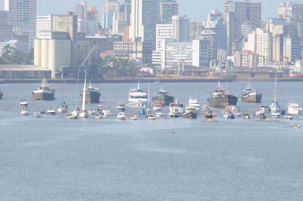 Procissão de Navegantes reúne milhares na Capital Ronaldo Bernardi/