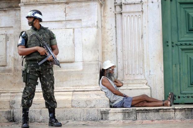 Sede da associação de policiais da Bahia é lacrada por determinação judicial Lunaé Parracho/AE