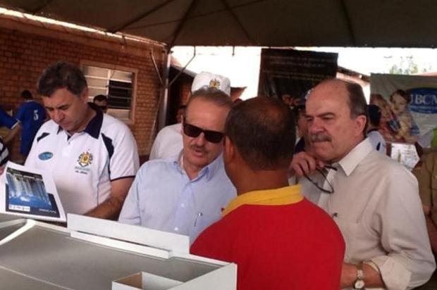 Com cenário de greve da PM em outros Estados, Tarso visita associação de servidores da BM Guilherme Gomes/Divulgação