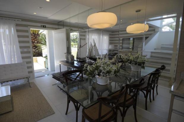 Área social e pátio da Casa 5 apresentam ambientes de convívio para moradias de veraneio Adriana Franciosi/Agencia RBS