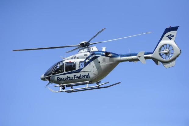 Receita usa helicóptero para fiscalizar casas em condomínios no Estado Ronaldo Bernardi/Agencia RBS