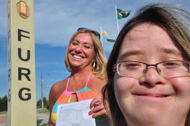 Jovem com síndrome de Down consegue transferência para universidade em Rio Grande Nauro Júnior/Agencia RBS