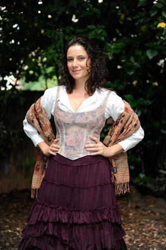 Fernanda Carvalho Leite como Paula:imagem 2