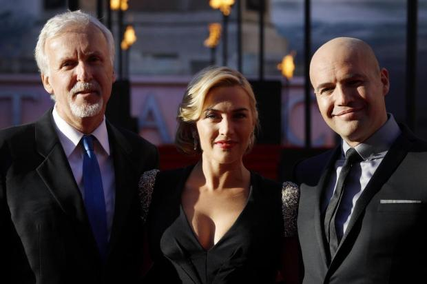James Cameron lança 'Titanic' em 3D Joel Ryan/AP Photo