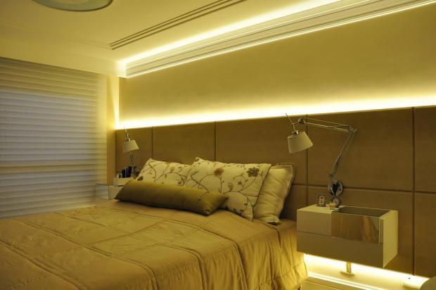 Dormitório do casal aposta em sofisticação para dar aconchego ao casal Carlos Edler,Divulgação/Carlos Edler,Divulgação