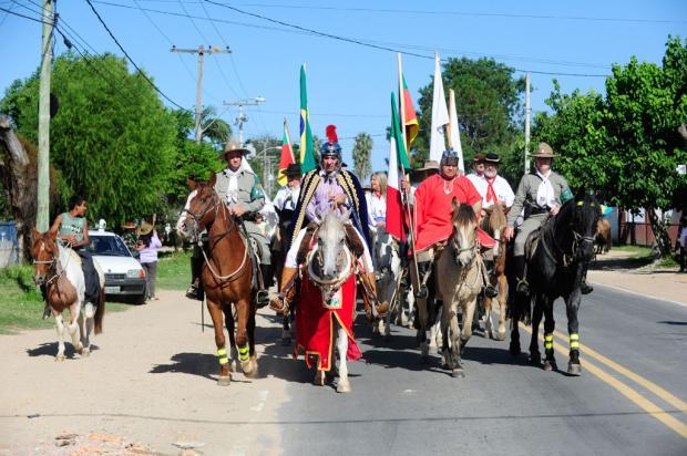 Cavalgada de São Jorge reúne fiéis na zona sul da Capital Ronaldo Bernardi/