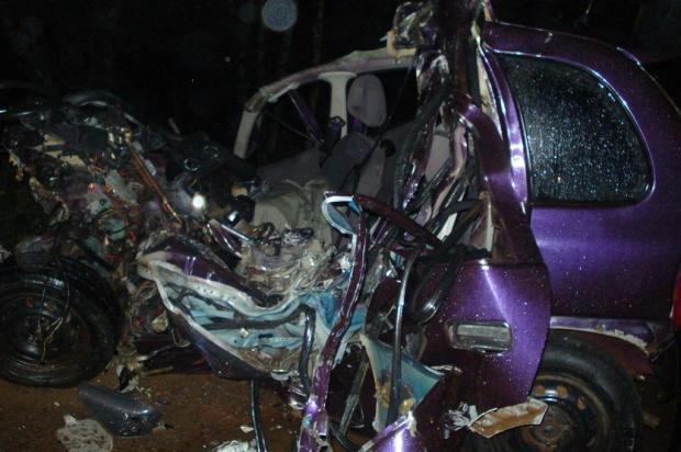 Estudante de 21 anos morre em colisão  envolvendo carro e caminhão em Nonoai CRBM Nonoai/divulgação