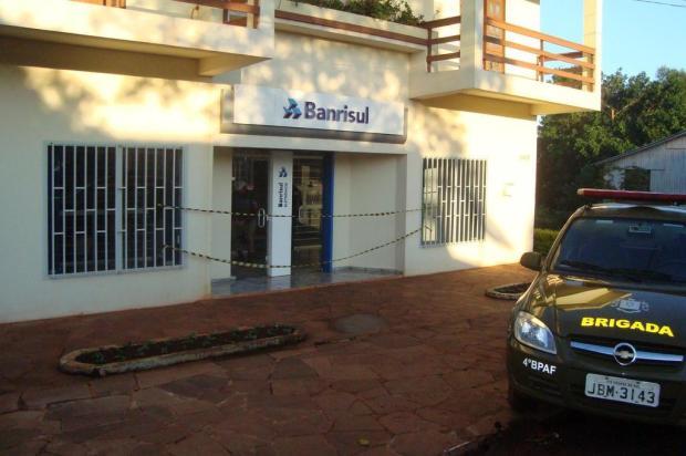 Banco é arrombado em Novo Machado  Brigada Militar/Divulgação