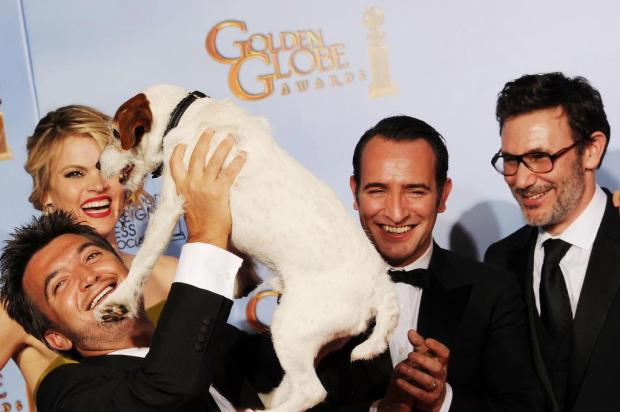 "Cachorro do filme ""O Artista"" vai ganhar biografia Kevin Winter/GETTY IMAGES NORTH AMERICA"
