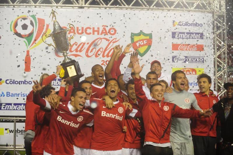 Com o resultado, o Inter conquistou a Taça Farroupilha e disputará a final com o Caxias:imagem 17