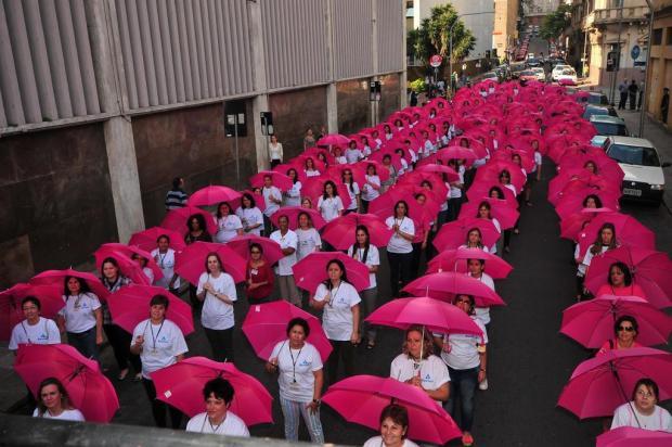 Grupo de combate ao câncer de mama homenageia o Dia das Mães Otávio Conci/Imama,Divulgação