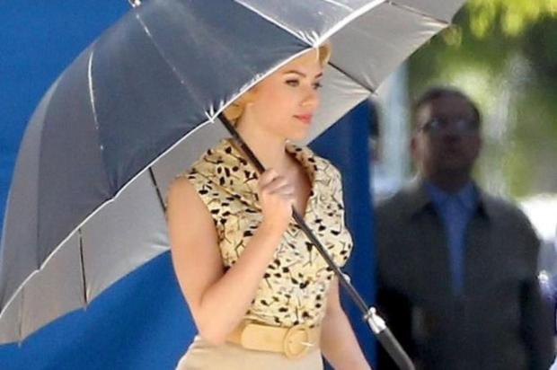 Divulgada primeira foto de Scarlett Johansson como Janet Leigh, de Psicose Reprodução/Omelete