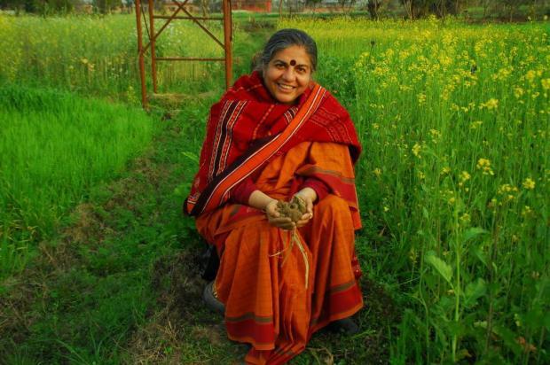 Referência mundial no ambientalismo, Vandana Shiva concede palestra na Capital Fronteiras do Pensamento/Divulgação