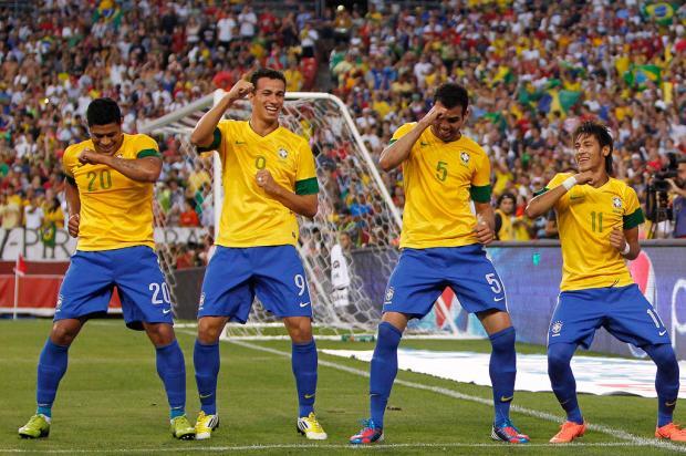 Com bela atuação de Oscar, Seleção goleia os Estados Unidos por 4 a 1 Divulgação/clicRBS