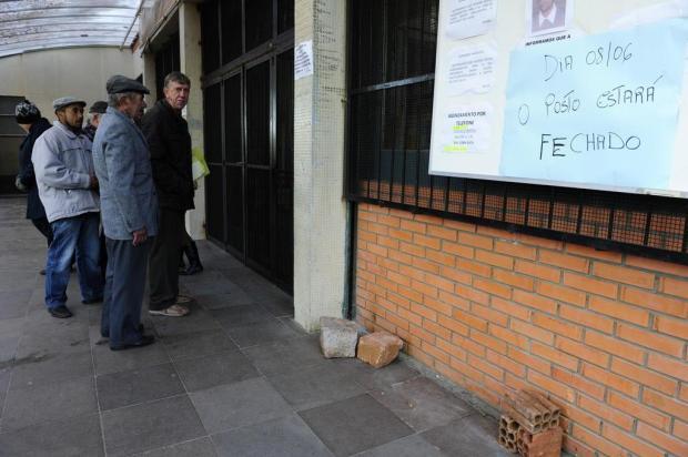 Postos fechados revoltam pacientes em Porto Alegre Ronaldo Bernardi/Agencia RBS