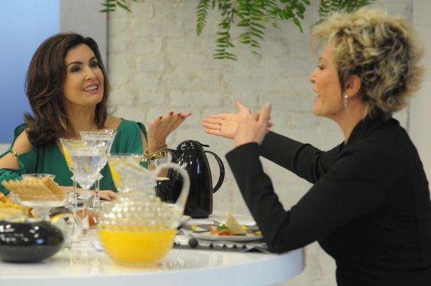 """Fátima Bernardes participa do """"Mais Você"""" com Ana Maria Braga João Cotta/TV Globo/Divulgação"""