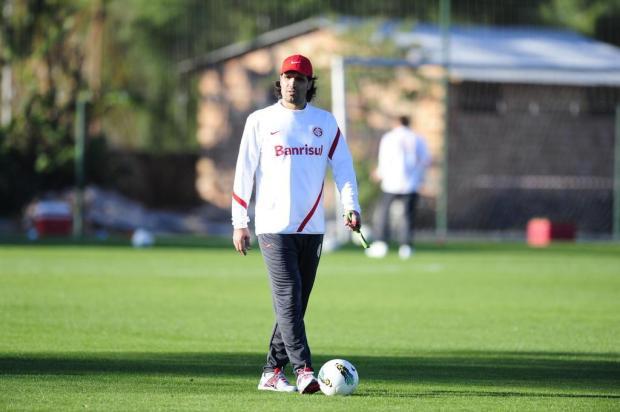"""""""Estou colocando a cara para bater"""", diz Fernandão em sua apresentação como técnico do Inter Ricardo Duarte/Agencia RBS"""