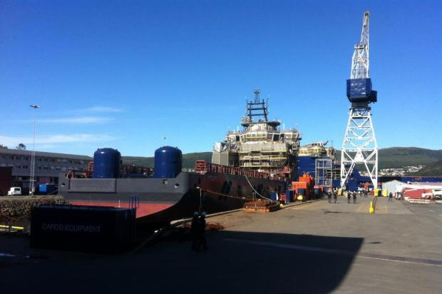 Construção naval em Ålesund