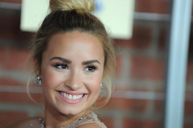 Demi Lovato xinga revista e defende Kate Middleton  Jordan Strauss/AP Images