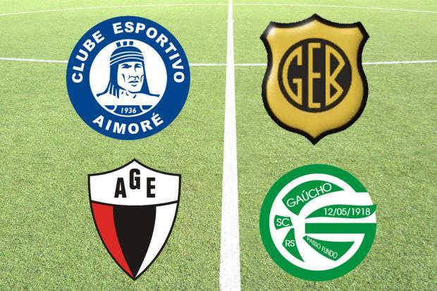 Aimoré, Bagé, Garibaldi e Gaúcho disputarão semifinais da Segundona Reprodução/