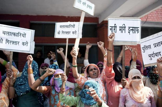 Na Índia, estupro destrói família e quebra o silêncio das vítimas Enrico Fabian/NYTNS