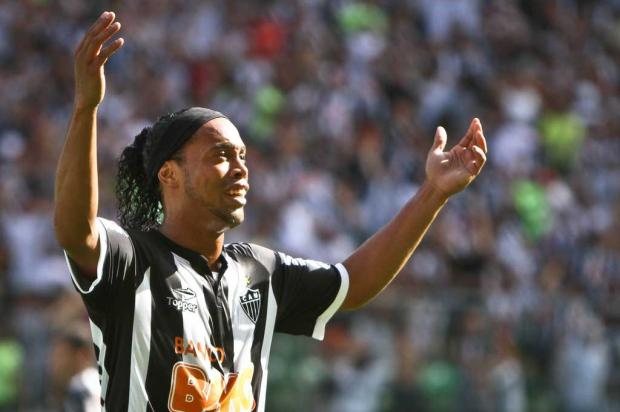 Alvo do Flu, Ronaldinho teria pedido R$ 1 mi por ms para seguir no Atltico-MG Bruno Cantini/Atltico-MG/