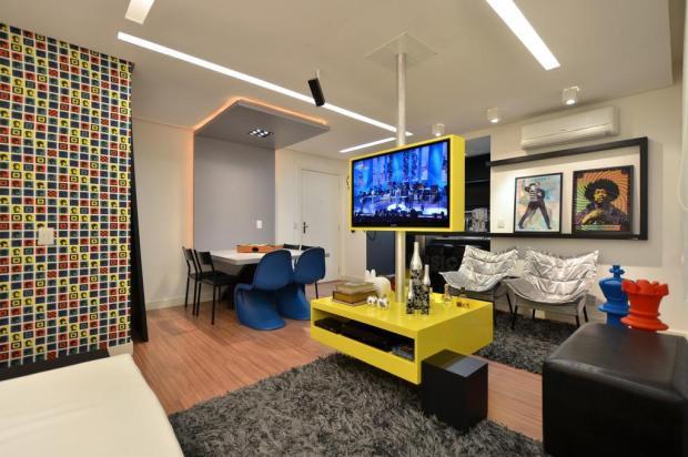 Colorido, apartamento mostra formas e funções em jogo de esconde e exibe Bohn Fotografia,Divulgação/Divulgação