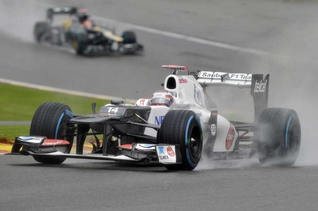 Sauber confirma o mexicano Esteban Gutierrez para a temporada 2013 AFP PHOTO / THOMAS KIENZLE /