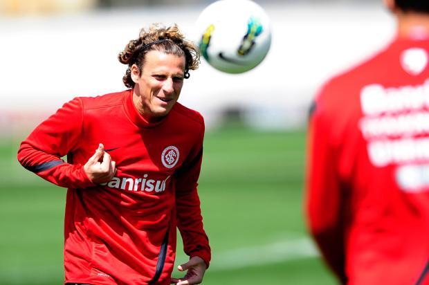Inter treina finalizações antes de enfrentar a Portuguesa pelo Brasileiro Alexandre Lops/SCI