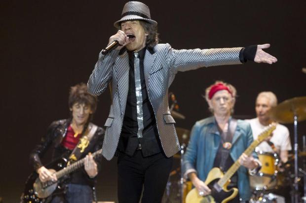 Rolling Stones celebram cinquentenrio com show para 20 mil em Londres Joel Ryan/AP