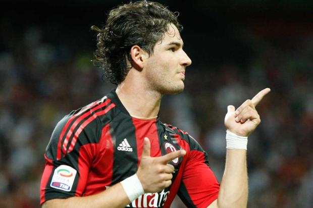 Galliani defende permanência de Alexandre Pato no Milan AP Photo/Antonio Calanni/