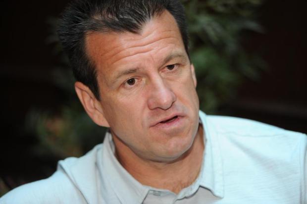 """Luigi: """"Tinha um compromisso com Dunga. Como ele não respondeu, estou livre"""" Rafaela Martins/Agencia RBS"""