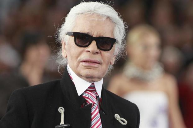 Melissa anuncia parceria com estilista Karl Lagerfeld  Thibault Camus,File/AP